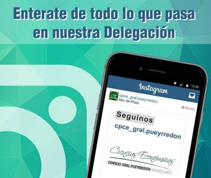 Estamos en Instragram