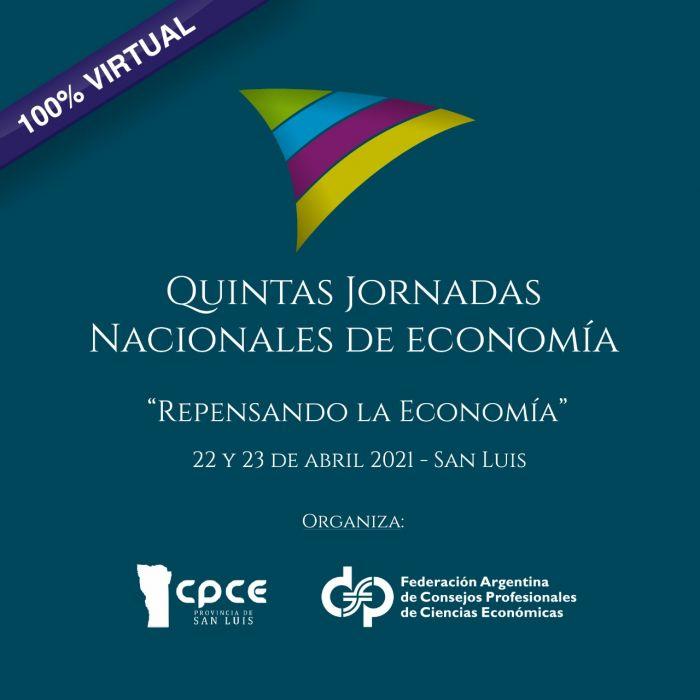 Se realizarán en abril las V Jornadas Nacionales de Economía
