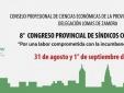 Se acerca el 8° Congreso Provincial de Síndicos Concursales
