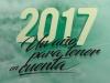 Calendario 2017, actualizado