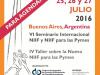 Nueva edición del Seminario Internacional NIIF y NIIF para Pymes