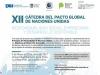 El Consejo invita a la XII Cátedra del Pacto Global de Naciones Unidas