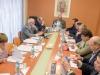 La Mesa Directiva del Consejo de visita en el interior